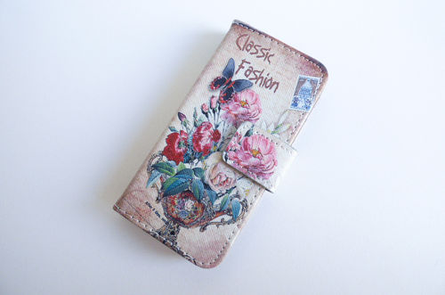 iPhone 6/6s bookcase Flower