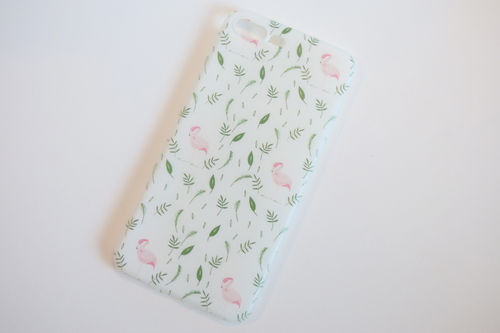 iPhone 7 Plus case Flamingo Summer