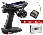 Sanwa M17 Radio + 2x RX-491 Receiver & Preinstalled Battery (aanbieding t/m 01/12)