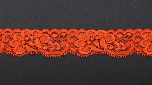 Elastic lace small 2 red
