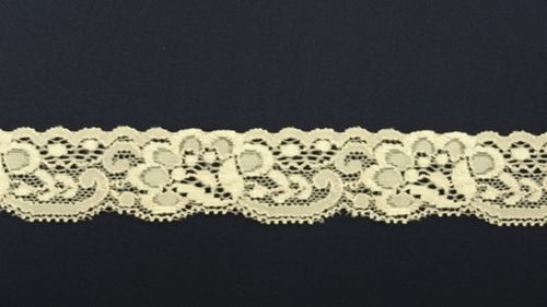 Elastic lace light pink