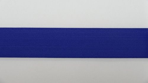 Waist elastic wide royal blue