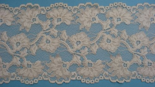 knitted lace light beige