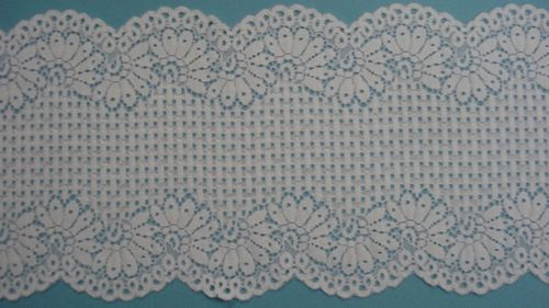 Knitted lace white