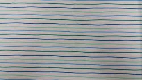 Lycra white/turquoise/green striped
