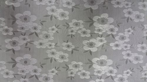 Lycra mouse grey on silk basic flower