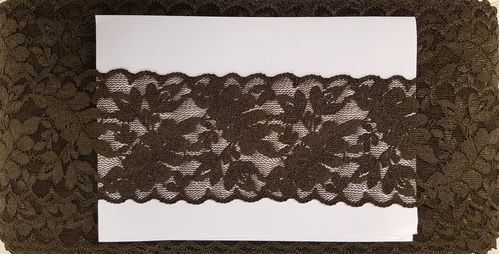Elastic lace small 18 Army Green