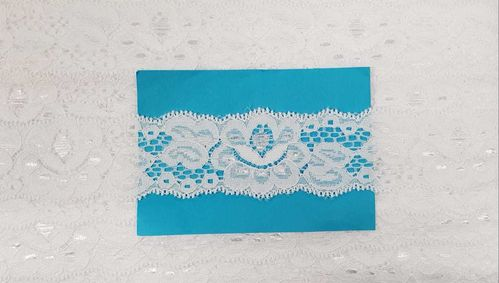 Elastic lace small 72