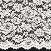 brocade lace Ecru