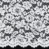 brocade lace White