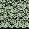 brocade lace Mint
