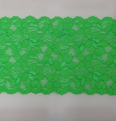 knitted lace 115 Hard green