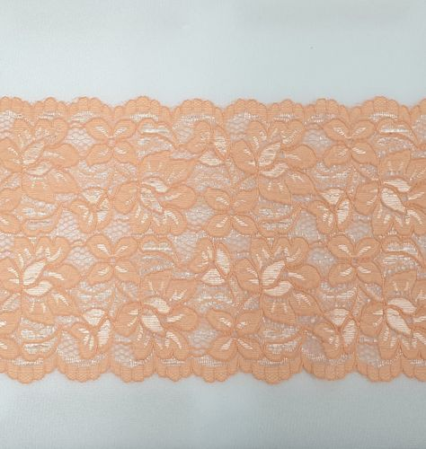 Knitted lace 113 Salmon