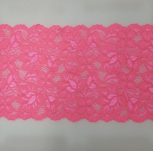 Knitted lace Hard Pink