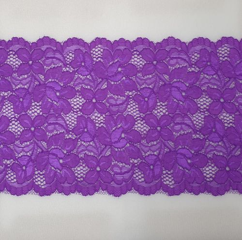 Knitted lace 119 Violet