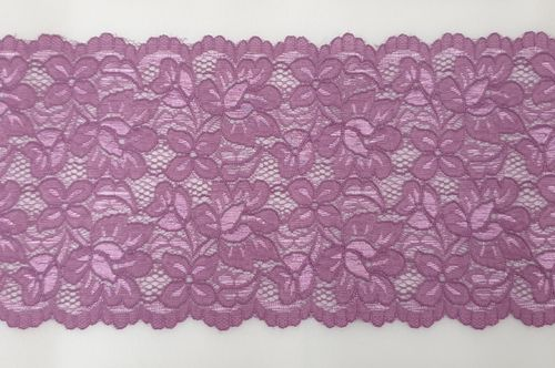 Knitted lace 123 Dark Lilac