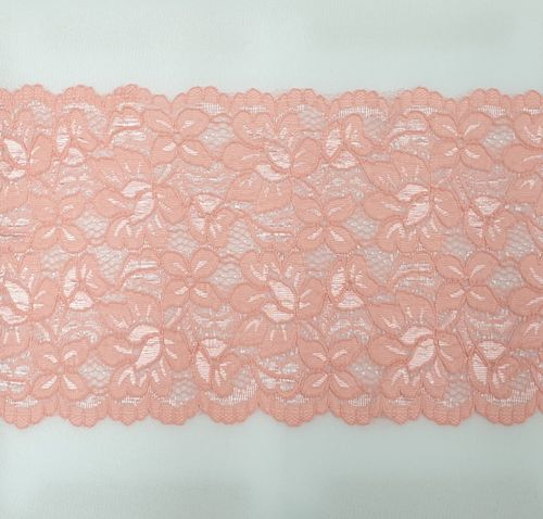 knitted lace 120 Light old pink
