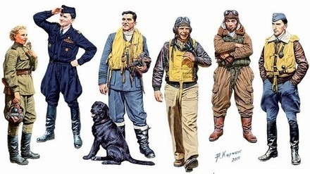 Famous Pilots Of WWII 1/32