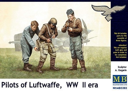 Pilots of Luftwaffe 1/32