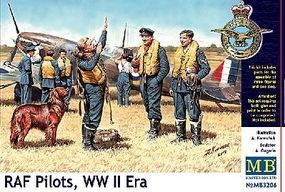 RAF Pilots WO2 and dog 1/32