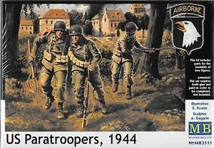 US Paratroopers 1944 1/35