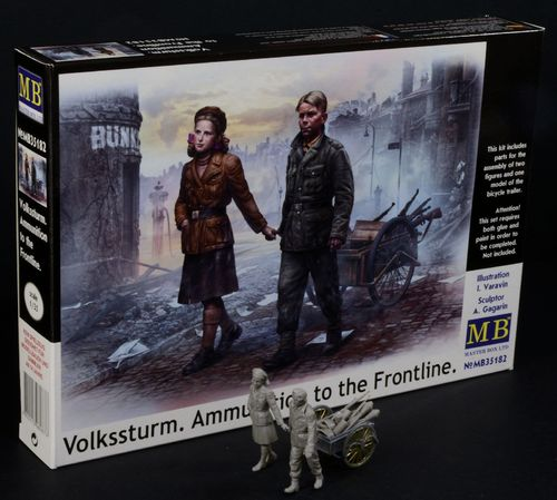 'Volkssturm. Ammunition to the Frontline' 1/35