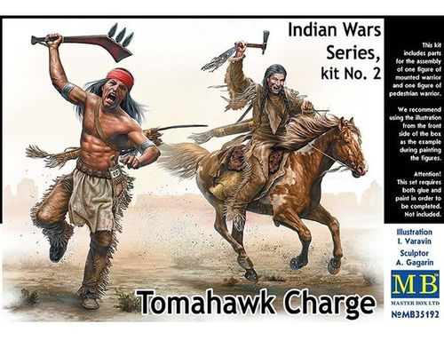 Indian Wars Series, Kit no2 Tomahawk Charge 1/35