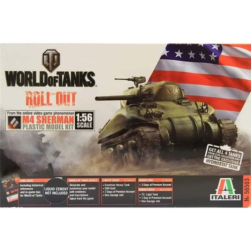 M4 Sherman - World of Tanks serie 1/56