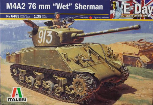 M4A2 76mm 'Wet' Sherman 1/35