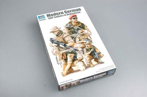 Modern German Isaf Soldiers in Afghanistan 1/35