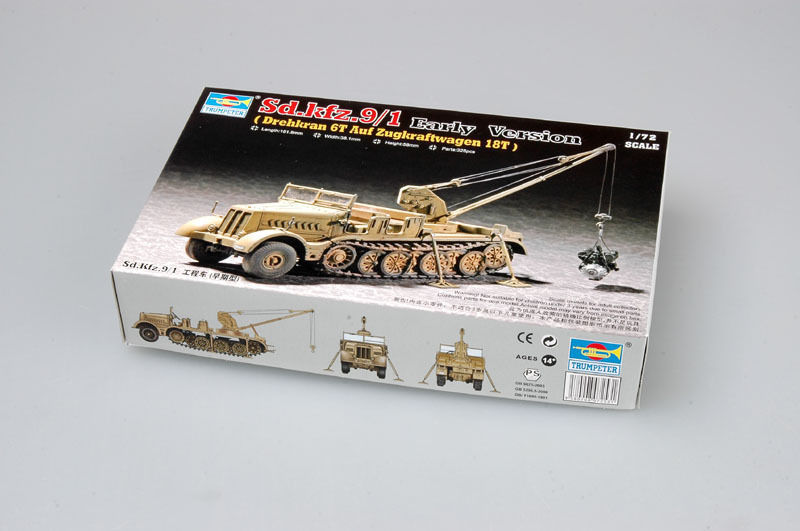 Sd.kfz.9/1 Early Version 1/72
