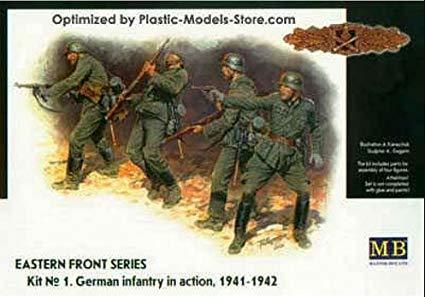 German infantry in action, 1941 - 1942 1/35