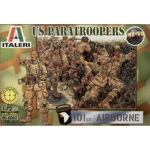 WWII U.S. Paratroopers 1/72