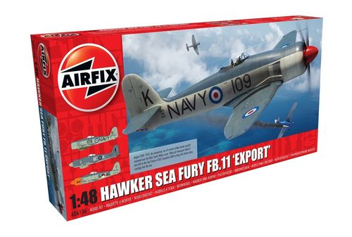 Hawker Sea Fury II Export Edition 1/48