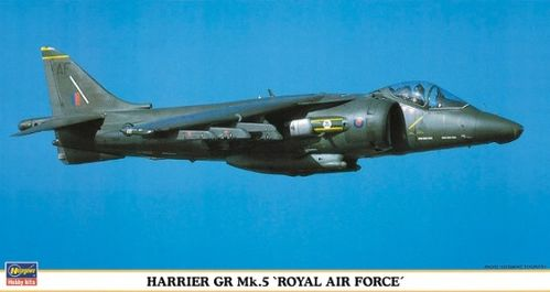 "Harrier GR Mk.5 ""Royal Air Force"" 1/48"